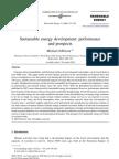Sustainable Energy Development