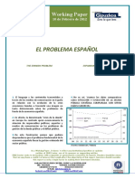 EL PROBLEMA ESPAÑOL (Es) THE SPANISH PROBLEM (En) ESPAINIAREN ARAZOA (Eus)