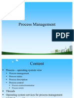 My Ppt @ BEC DOMS on Process Management