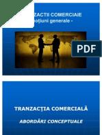 Tranzactii Comerciale