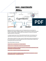 Conclusiones Experimento Oparin y Miller