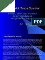 Gardu Induk Tanpa Operator