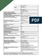 SCHEDA TRASPARENZA Economia C I L 22 (Economia Aziendale e Ec e Gest Imprese) 2011 2012 Completa