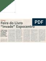 """Feira do Livro """"Invade"""" Expocentro"""