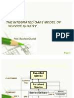 Integrated Gaps Model of Service Quality