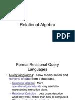 Relational Algebra1