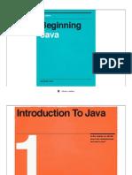 Beginning Java