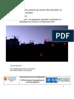 Les transformations urbaines du centre-ville marseillais