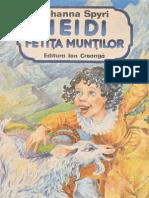 Johanna Spyri Heidi Fetia Munilor 23