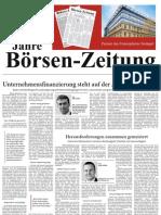 60 Jahre Börsen-Zeitung  -  Partner des Finanzplatzes Stuttgart