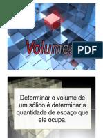 Volume de Solidos Cilindro