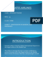 Emirates Airlines Ppt