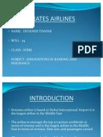 Emirates Airlines Ppt