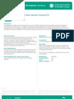 Course Leaflet
