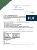 Equazioni parametriche