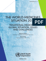 The World Medicines Situation 2011 Traditional Medicines- Global Situation, Issues and Challenges