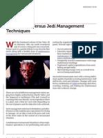 Jedi Management Techniques