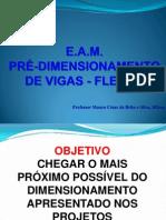EAM Pre Dimension Amen To de Vigas Pp