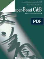 Super Bond CBblackbooklet