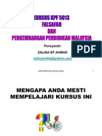KPF 5013 (DPLI) Nota 1