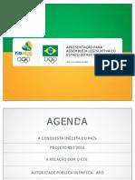 Apresentação Comitê Olimpico Brasileiro