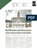 Rui Moreira não fecha porta (municipais Porto 2013) - JN, 10-fev-2012