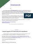 Comment Éliminer XP Total Security 2011