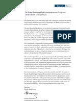 Danske Bank Group COP 2010