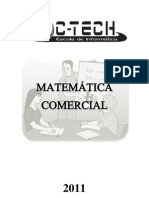Apostila de Matemática Comercial
