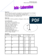 Pendeln laboration