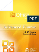 Microsoft Office 2010; Advanced Course