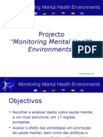 Monitoring Mental Health Environments project summary Portuguese