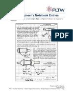 Sample Engineers Notebook Entries