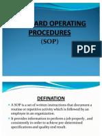 Standard Operating Procedures[1]