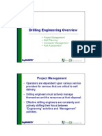 Drilling Eng Overview