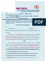 Neltech Selection Order