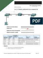4.2.3 diseño y aplicaion de un esquema direcio IP