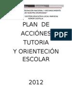 Plan Tutoria