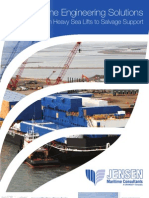 Jensen Heavy Lift Marine Engineering Brochure