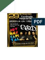 Show POD e Jovens da Capital em Brasília (P.O.D)
