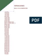 Santa Teresita de Lisieux - Ultimas Conversaciones
