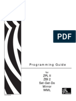 Manual Program Ad Or Zebra