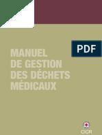 Manuel de gestion des déchets médicaux