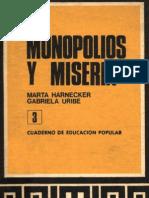 Monopolios y miseria 3