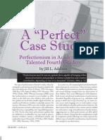 A Perfect Case Study