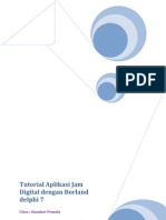 Tutorial Aplikasi Jam Digital Dengan Borland Delphi 7