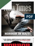 Horror in Haiti