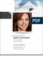 Beth Comstock is Documented@Davos