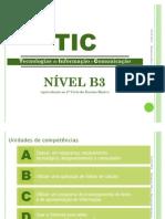Descodificação Referêncial TIC B3 + MV B3_PRONTO