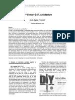 21st Century DIY Architecture